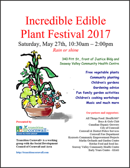 Incredible Edible Poster 2017w